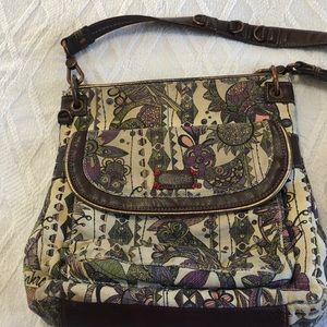 Sakroots Crossbody Bag Owl Print